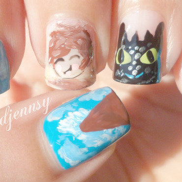 How to train your dragon 2 nails2 thumb370f