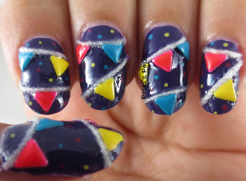 Congratulations Nailpolis! nail art by Pixel's Polish