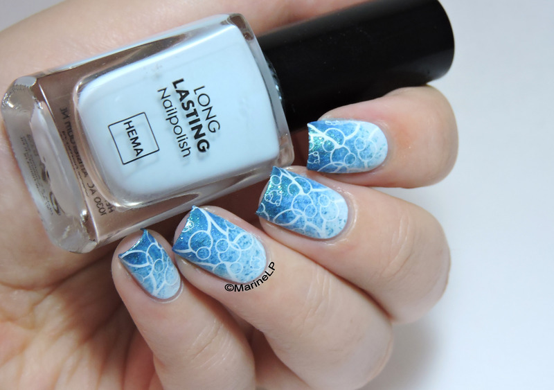 Bubbles nail art by Marine Loves Polish