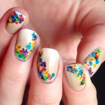 Summer nail art by Louise