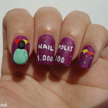 Nailpolis nail art by Christina