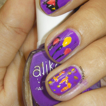 Parrttyy Nails! nail art by Nailz4fun