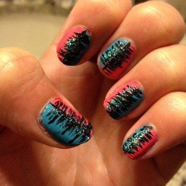 fun party nail art by Princesscourtney