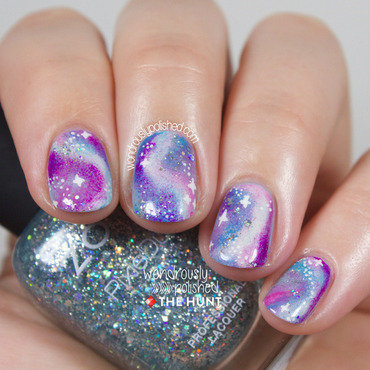 Wondrously polished the hunt pastel galaxy nail art tutorial 2018 thumb370f
