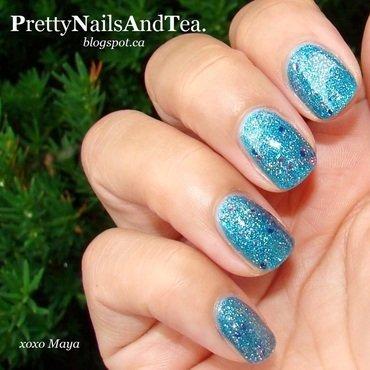 Julep Jennine Polish Swatch nail art by PrettyNailsAndTea