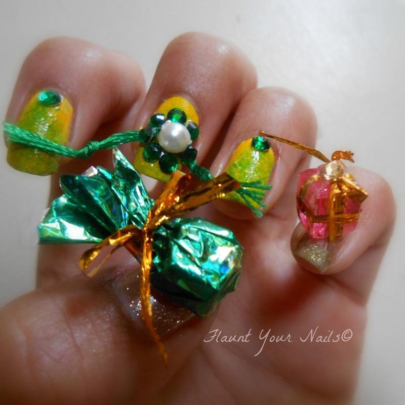 Happy Rakshabandhan nail art by Vidula Kulkarni