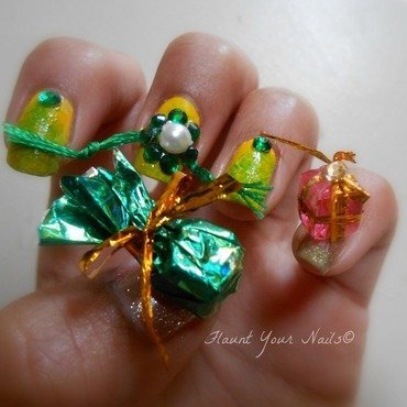 Happy Rakshabandhan nail art by Vidula Kulkarni