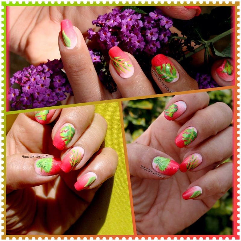 Exotique nail art by Elodie Mayer