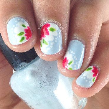 Cath Kidston Nails nail art by Sabah