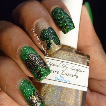 St Patty's Day Nail Art nail art by Tamira (Lacquer Lockdown)