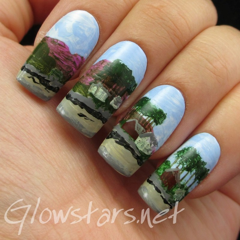 The Digit-al Dozen does summer: Laundry Bay nail art by Vic 'Glowstars' Pires