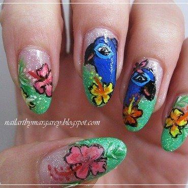 Rio nail art by Margaret Nail Art