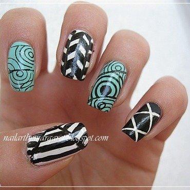 mix nail art by Margaret Nail Art