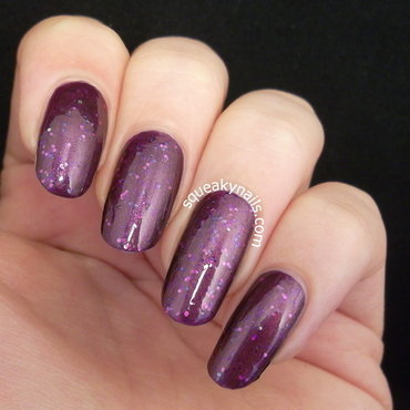 spell polish Ignoramus Swatch by Squeaky  Nails