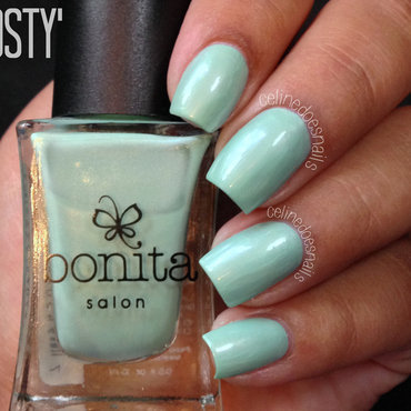 bonita Frosty Swatch by Celine Peña