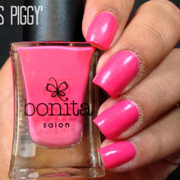bonita Miss Piggy Swatch by Celine Peña