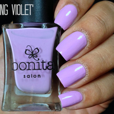 bonita Spring Violet Swatch by Celine Peña