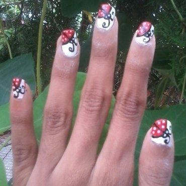 lady bug  nail art nail art by reena  dsa