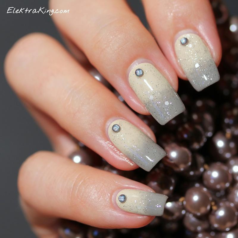 Midnight Mambo nail art by Elektra King