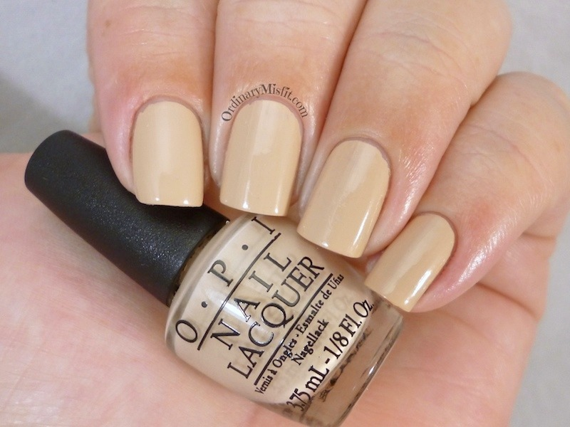 OPI Don't Pretzel My Buttons Swatch by Michelle