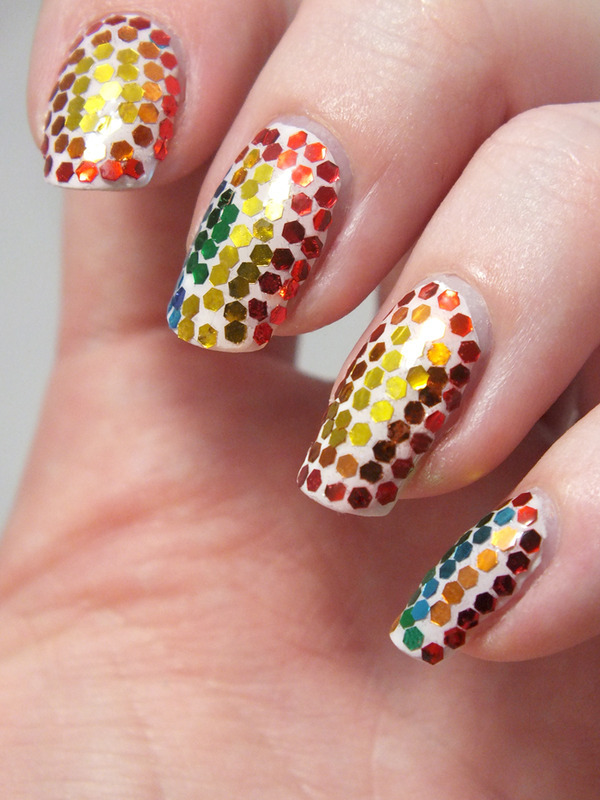 MOsaic from Barcelona nail art by Tribulons