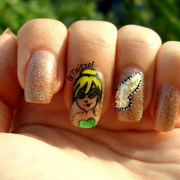 fairy nails nail art by Teo