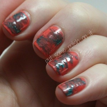 what a drag nail art by Crystal