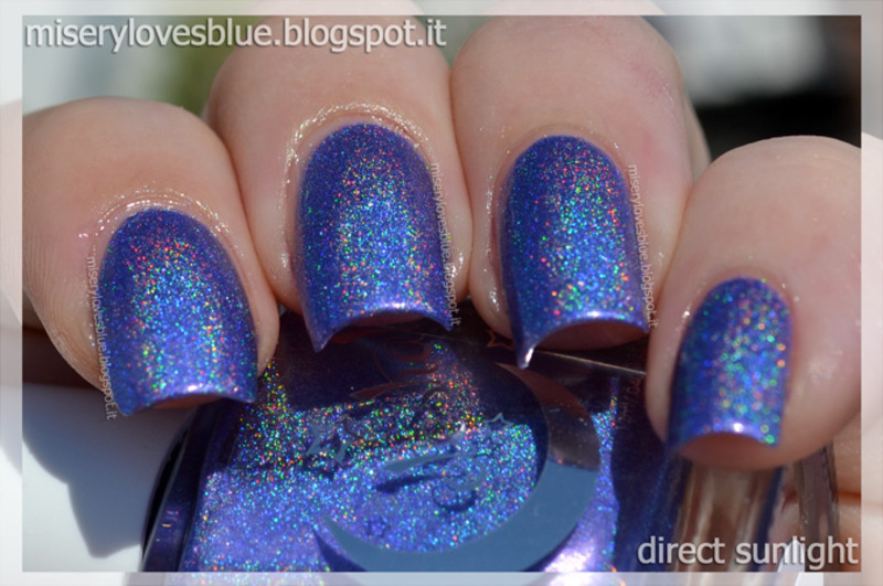 Celestial Cosmetics Noel's Nuts Swatch by MiseryLovesBlue