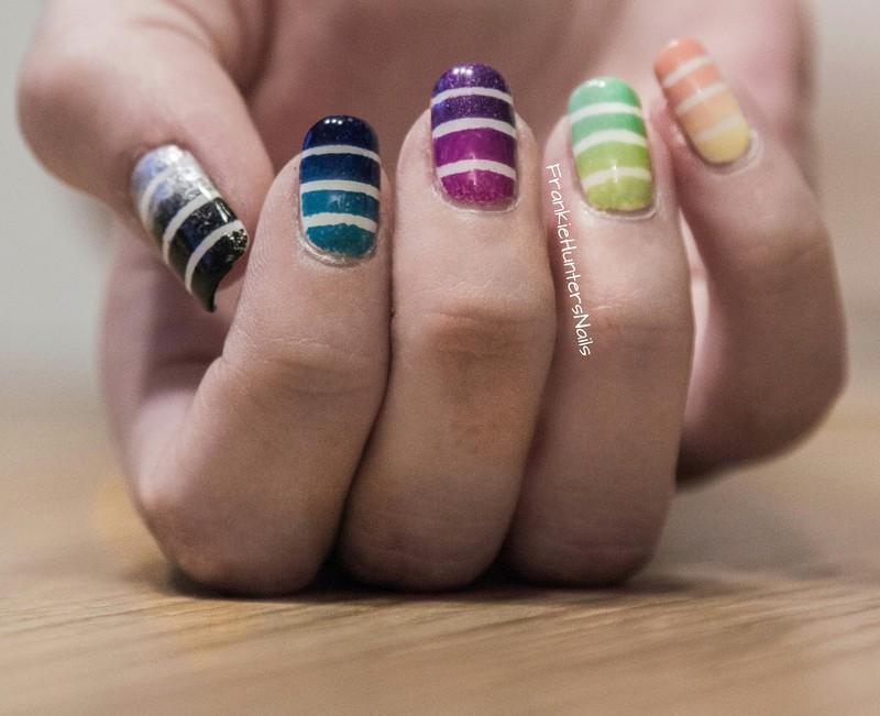 Celebration Nail Art! nail art by Franziska FrankieHuntersNails