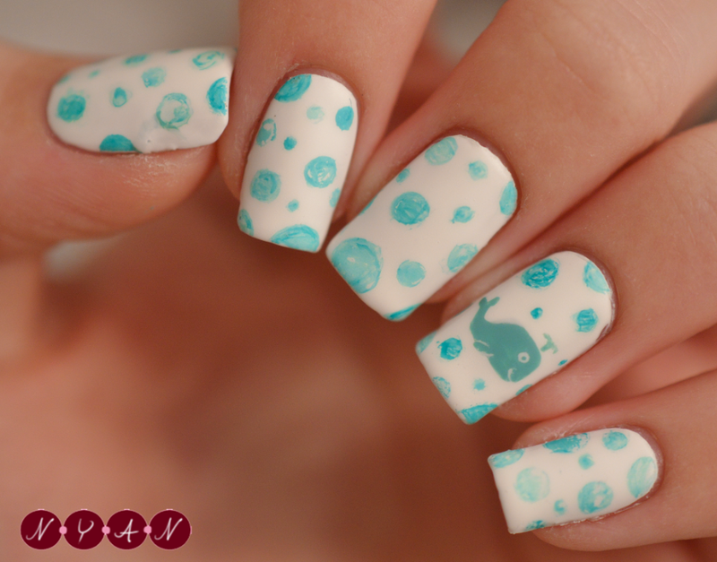 A Whale of a Time nail art by Becca (nyanails) - Nailpolis ...