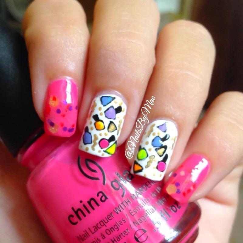Nail Art Party! nail art by Sheily (NailsByMae)