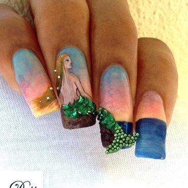 Waiting... nail art by Dess_sure