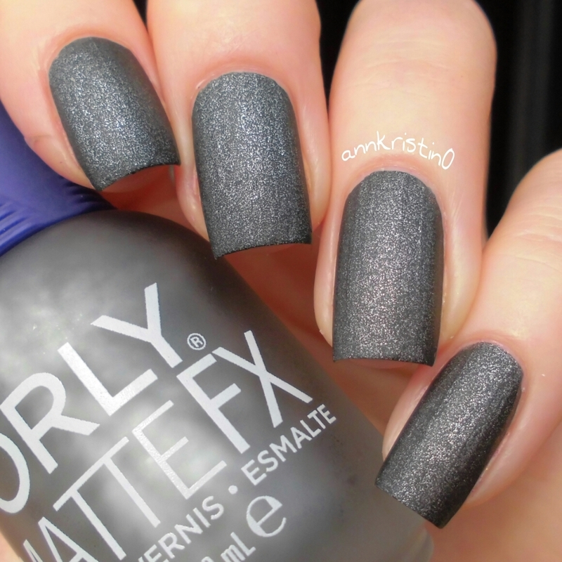 Orly Iron Butterfly Swatch by Ann-Kristin