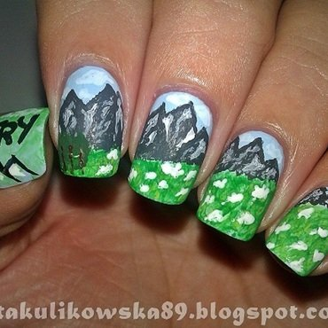 TATRY nails nail art by Anita