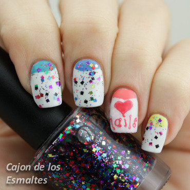 I love nails! nail art by Cajon de los esmaltes