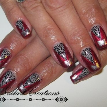 Modern Butterfly Reloaded nail art by Nailart Creations