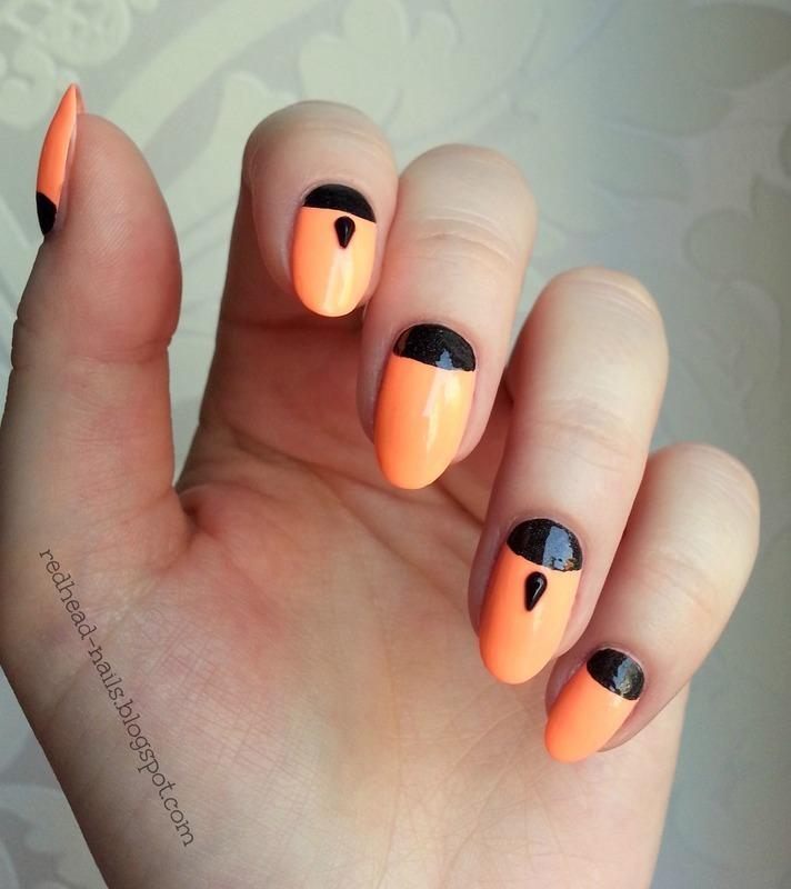 Indian nail art by Redhead Nails