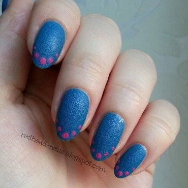 Beauty Uk printworks Swatch by Redhead Nails