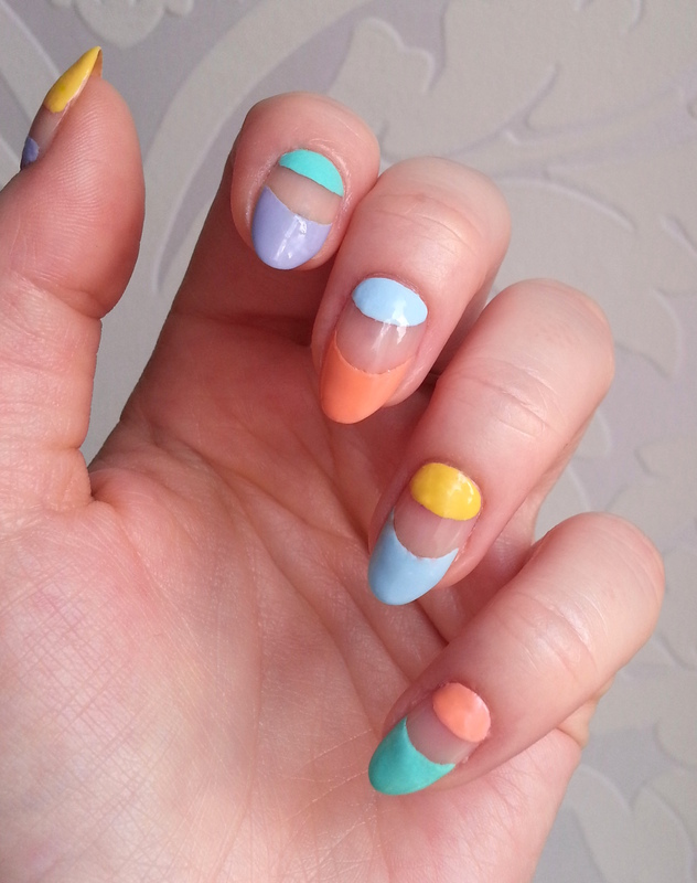 Inspired by... nail art by Redhead Nails