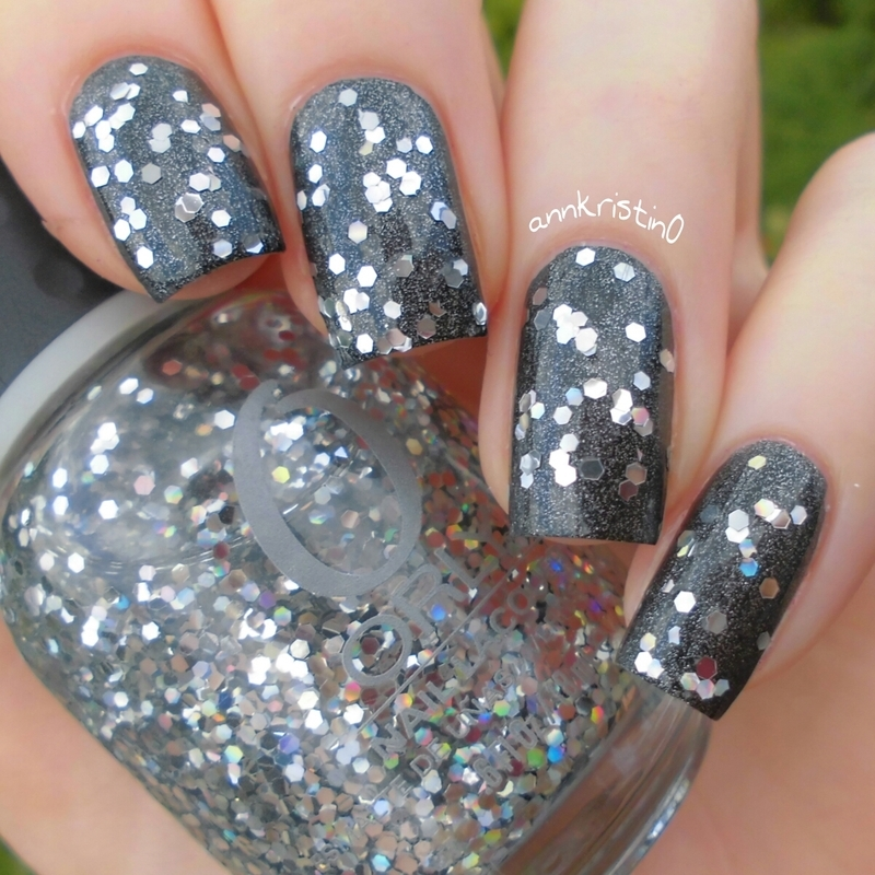 Orly Holy Holo and Orly Iron Butterfly Swatch by Ann-Kristin