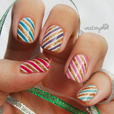 Party Nails! nail art by xNailsByMiri