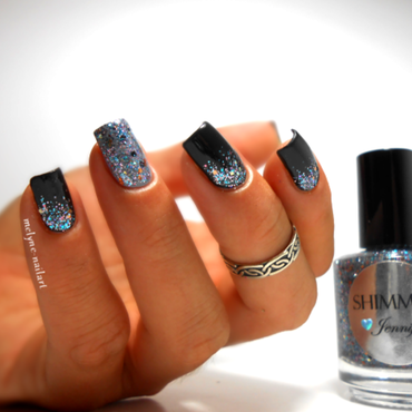 Shimmer Polish Jennifer Swatch by melyne nailart