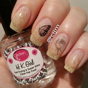 Simplicity  nail art by cijm