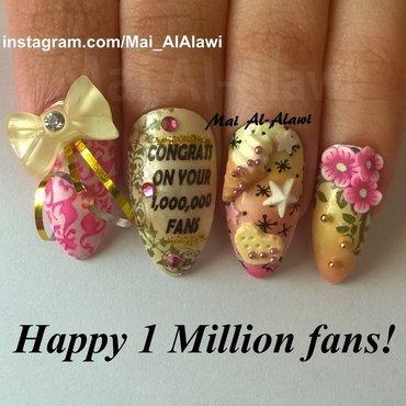 Wp 20140818 happy 201 20million 20fans nail 20art 20by 20mai 20alalawi thumb370f