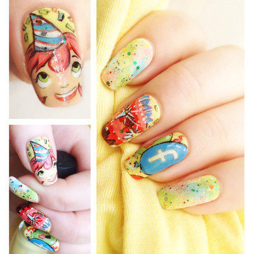CELEBRATING SUCCESS!! nail art by Bazavan Diana