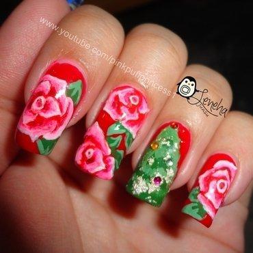 Flowers Nail Art nail art by Leneha Junsu