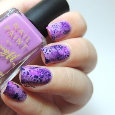 Purple sky galaxy nails 20 6  20 1  thumb370f