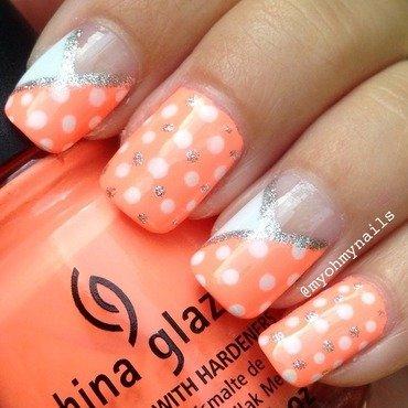Neon mix & match nail art by Niki My Oh My Nails