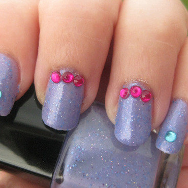 Nail Bling nail art by Andi