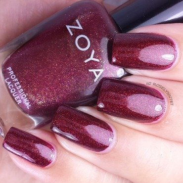 Zoya India Swatch by Rose Mercedes
